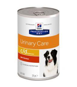 Hill's Prescription Diet C/D Canine - Boîtes de 12x370 g