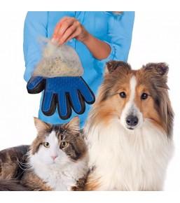 Gant de brossage / toilettage pour chats et chiens