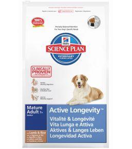 Hill's Science Plan Canine Mature Adult 7+ toutes races à l' Agneau et au Riz